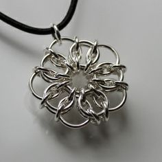 celtic flower chainmaille
