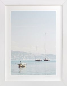 """""""Portofino Afternoon"""" by Three Kisses Studio in beautiful frame options and a variety of sizes."""