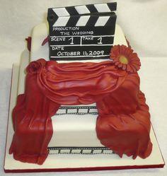 Monika Bakes movie wedding cake