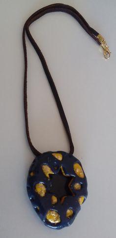 "with pendant ""estrella azul"" # Schmuckanh … - Diy Necklace Deko Diy Necklace, Washer Necklace, Jewelry Shop, Jewelry Necklaces, E Coupons, Pendants, Online Marketing, Beauty, Art Gallery"