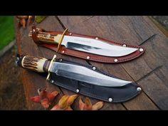 Pontus Holmberg Eskilstuna Sweden Bowie Knife Jaktkniv Fahrtenmesser antique vintage antikes ;-) 1950-1960 Jagdmesser aus Eskilstuna Schweden rostfrei - stai...