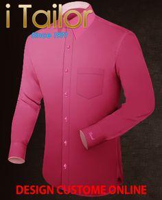 Design Custom Shirt 3D $19.95 prix costume sur mesure Click http://itailor.fr/costume/