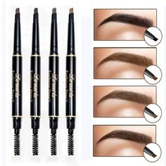 eyebrow pencil makeup Picture - More Detailed Picture about New Brand Eye Brow Tint Cosmetics Natural Long Lasting Paint Tattoo Eyebrow Waterproof Black Brown Eyebrow Pencil Makeup Picture in Eyebrow Enhancers from Crazy Feng Fashion Jewelry Eyebrow Tinting, Eyebrow Pencil, Eyebrow Makeup, Makeup Eyebrows, Drugstore Eyebrow, False Eyebrows, Eyebrow Products, Eyebrow Brush, Natural Cosmetics