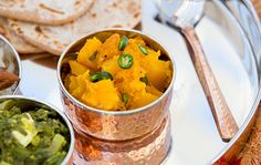 From the article 'Indian Feast' by Laura Booras in the Fall 2017 issue. For a link to the article and all the recipes in this menu, go to Global Local Cuisine. Butternut squash is the perfect fall food, and this Sweet and Sour Butternut Squash dish combines the sweetness of the squash with slightly sour