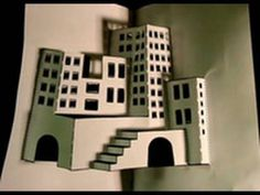 Make A 3D Paper City! - YouTube