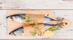 Mackerel with Gingered Rhubarb Hollandaise & Pickled Rhubarb Mackerel Fish, Mackerel Recipes, Fish Stock, Kitchen Board, Fresh, Image, Twitter, Blog, Foodies