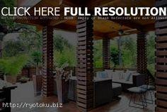 desain tiang kayu rumah minimalis