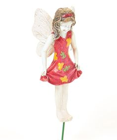 Look at this Macy Fairy Figurine on #zulily today!