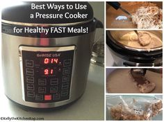 I love my new favorite kitchen gadget, and today I'm going to share all the best ways to use a pressure cooker...