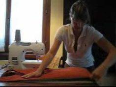 Fai da te: come cucire una fascia portabebè pouch sling L'ho realizzata per la mia bambina usando questo video