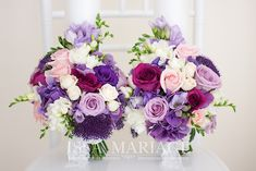 Bridal Wedding Dresses, Purple Wedding, Wedding Bouquets, Our Wedding, Wedding Flowers, Dream Wedding, Flower Art, Floral Arrangements, Marie