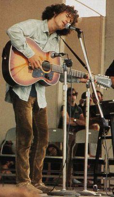 Tim Buckley - Newport Folk Festival, Newport, Rhode Island 1968 - by Elliott Landy