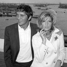 Terence Stamp and Monica Vitti (1965)