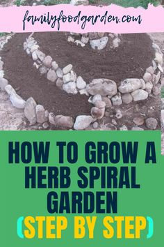 Circular permaculture or more commonly known as herb spiral gardens is an ideal environment to grow herbs for many reasons. Family Food & Garden will take you step-by-step on how to create your own. We go over the many benefits - like creating microclimates suited for each herb - for creating this type of garden to get the most out of your crops. You will be happy to add when you add this garden to your yard. Learn more… #herbspiralgarden #circularpermaculture #herbgardendesign Herb Spiral, Spiral Garden, Garden Steps, Best Herbs To Grow, Growing Herbs, Healthy Fruits And Vegetables, How To Build Steps, Herb Garden Design, Garden Buildings