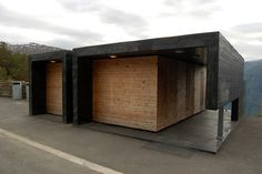 Todd Saunders - Architect - Norway - Public restroom