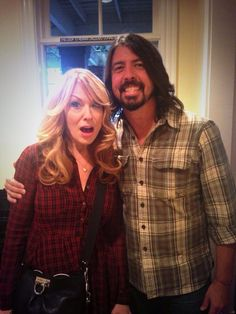Nancy Wilson and Dave Grohl |..|