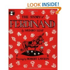 The Story of Ferdinand (Picture Puffins): Munro Leaf, Robert Lawson: 9780140502343: Amazon.com: Books