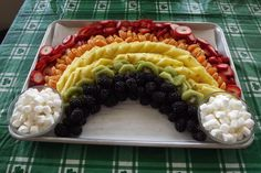 St. Patrick's Day Fruit Tray