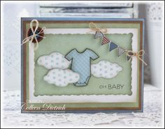 Bits and Pieces: A Baby Card for Jinny | Dietrich Designs