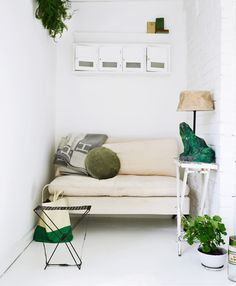Green inspiration via Camille Styles