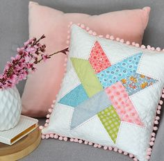 'Linen & Lawn' Pom Pom Cushion Giveaway !