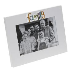 Personalised Modern Family Frame - personalise it with any message. #family #gift #personalisedgift