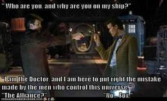 Firefly and Dr Who, I would watch this again and again and again.....