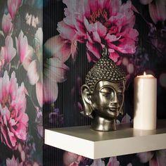 Momoka by Arthouse - Rose Pink : Wallpaper Direct Pink, Decor, Floral Design, Wallpaper, Home Art, True Colors, Pink Wallpaper, Color, Rose Pink Wallpaper
