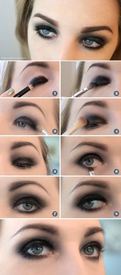 Easy Black Smokey Eye Tutorial | Wonder Forest: Design Your Life.