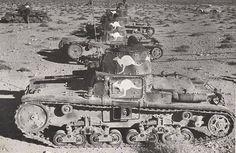 Australian captured Italian Tanks