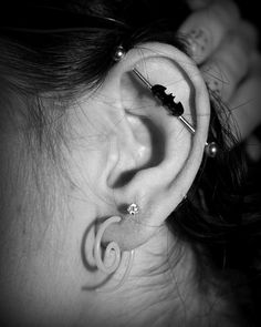 #industrial #batman Piercing