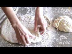 La meilleure pâte à pizza - allrecipes.fr - YouTube