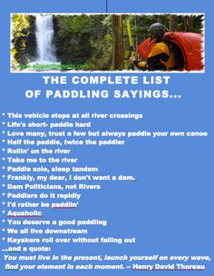 kayaking quotes | ... list of top paddler quotes. | Kayaking | Adventures | Kayaki