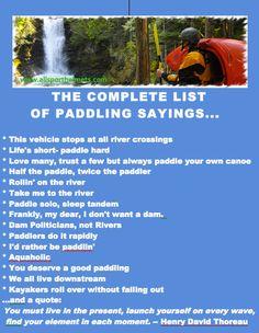 kayaking quotes | ... list of top paddler quotes. | Kayaking | Adventures | Kayaki