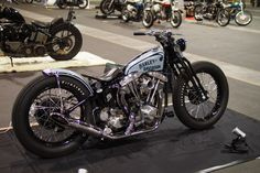 Harley-Davidson FL Shovelhead rigid | Springer style front end | Japan | via Daikoube.blogspot.com