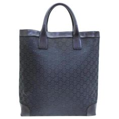 581e24bbe69 Gucci Monogram Gg Shopper 233739 Canvas Tote Tote Bag