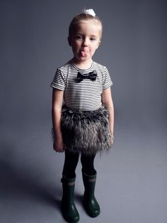 Holt and Lulu :: Gallery :: Fall 2012 Cute Outfits For Kids, Girly Outfits, Cute Kids, Trendy Outfits, Boy Outfits, Pretty Kids, Ungrateful Kids, Kids Lehenga, Little Fashionista
