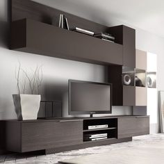 Free delivery over to most of the UK ✓ Great Selection ✓ Excellent customer service ✓ Find everything for a beautiful home Wall Unit Designs, Living Room Tv Unit Designs, Living Room Styles, Tv Unit Interior Design, Tv Unit Furniture Design, Tv Cabinet Design, Tv Wall Design, Tv Design, Tv Unit Decor