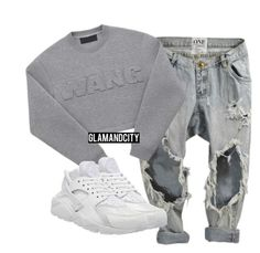 """""""Untitled #278"""" by glamandcity ❤ liked on Polyvore featuring NIKE, women's clothing, women, female, woman, misses and juniors"""