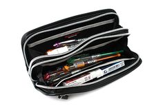 Nomadic PF-01 Carbonium Pen Case A - Black Everyone needs a trusty pen case to put all their pens and pencils in!