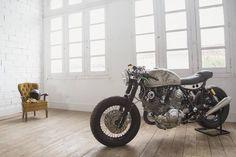 Yamaha XV750 Virago #caferacer discover #motomood