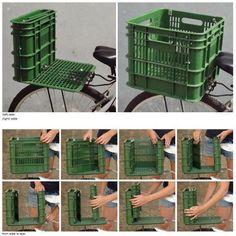 Bicycle Seat and Box DIY Projects | UsefulDIY.com Follow Us on Facebook --> https://www.facebook.com/UsefulDiy