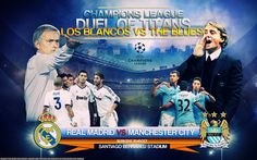 Real Madrid vs Manchester City 18 september 2012 UEFA Champions League