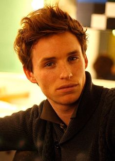 I totally fell for Eddie Redmayne's voice in Les Miserables, and he's a cutie.