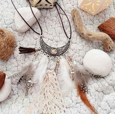 """Le beau collier amérindien fait par mes petites main retrouvez le diy sur le blog de """"la perle des loisirs """""""
