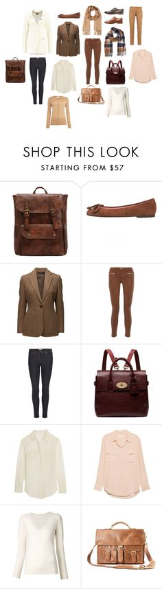 """The British part of my style"" by arcticjasmine on Polyvore featuring Pepe Jeans London, Pretty Ballerinas, J Brand, Acne Studios, Mulberry, Equipment, Chloé and Rawlings"