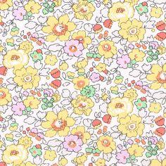 Liberty Fabric Tana Lawn Betsy W1