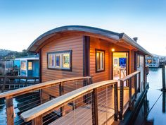 | Sausalito Houseboat | A small custom houseboat in Sausalito, California. ~ click on photo for more ~