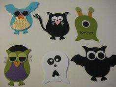 Stampin Up Halloween Punch Arts | Stampin Up Owl Scrapbook paper piece Halloween ... | cards punch art