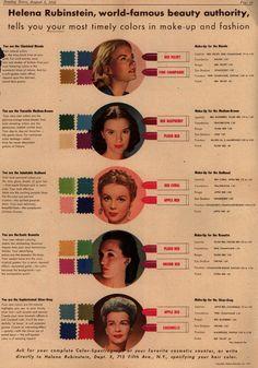 40's makeup: Helena Rubinstein